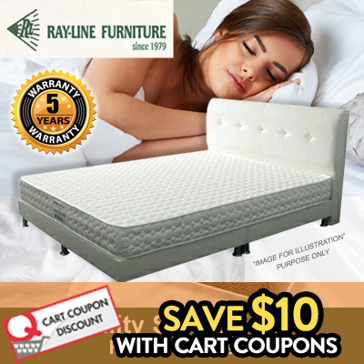 Quality Single Foam Mattress! Lowest in Qoo10 Deals for only S$299 instead of S$0