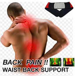 ★Back Pain Waist Back Support★ Tourmaline Magnetic waist back support Fever support Belt