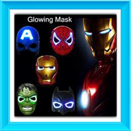 Restock! SUPERHERO/STARWARS MASK/ LED MASK/CAPTAIN AMERICA/SPIDERMAN/IRONMAN/BATMAN/THOR