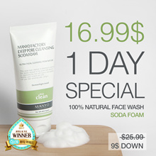 [Manyo Factory HQ Direct operation]★Soda Foam★Non-irritating Natural and Perfect pore face wash
