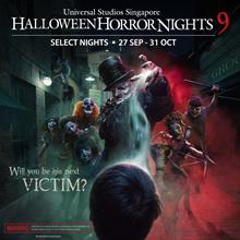 HHN9 - Universal Studios Singapore (USS) Halloween Horror Nights 9 E-ticket