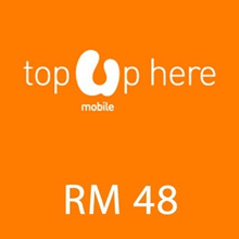 [Mobile App Only] Umobile instant Top UP RM 48