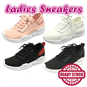 FREE SHIPPING 【READY STOCK】High Quality Korean Style Ladies Shoes Casual Sneaker Casual Sport shoes