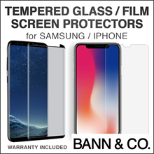 ★NEW: IPHONE XS/XR★Premium Screen Protectors for iPhone XS/XR/X/8/7/6/5 Samsung Note 9/8 S9/S8/S7