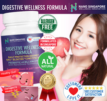 DIGESTIVE WELLNESS 40 BILLION PROBIOTIC FORMULA * GUT WELLNESS * DETOX * BOOST IMMUNITY * ANTI-AGING