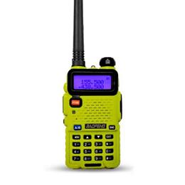 BaoFeng UV-5R LST Yellow Walkie Talkie