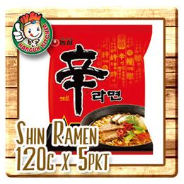 Shin Ramen 120gm x 5pkt