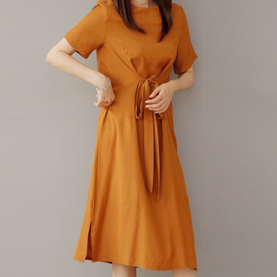 ビナインスペイワンピース 綿ワンピース/ 韓国ファッション