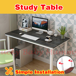 【Ikea-like Table】Study Computer/Table Space Saving Office Study Desk Student Laptop PC Coffee Side