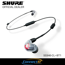 Shure SE846+BT1 Wireless Sound Isolating Earphones with Bluetooth Enabled Communication Cable