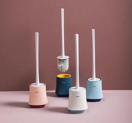 Product Mu design toilet brush no dead corner toilet brush long handle to dead corner cleaning brush