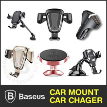 Baseus Wireless Charger Charging Car Air Vent Mount Phone Holder Quick Charge QC3.0 Car Charger