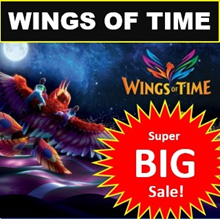 Wings of Time [eTicket! HASSLE FREE!] - Sentosa Laser and Musical Fountain Show. Singapore Attractions Tickets!
