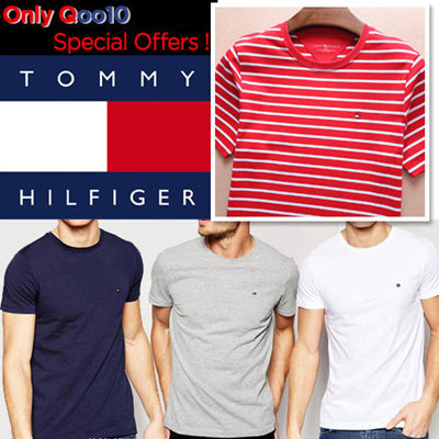 ebe7c7756 Qoo10 - tommy hilfiger 100% Authentic ☆Men s T-Shirt  Men   Women ...