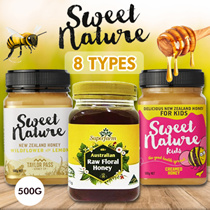 ★ Buy 2 Free Shipping ★ Sweet Nature/ Superfarm 9 Types Honey 500G PROMO!