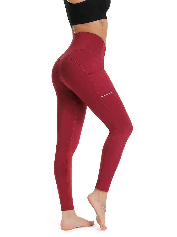 eff9faea954141 actual size. prev next. Olacia Yoga Leggings with Pockets High Waisted Tummy  Control ...