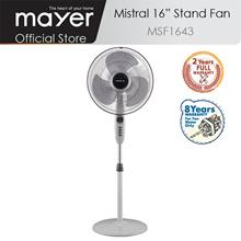 Mistral 16 Inch Stand Fan/2 Yrs Full Warranty/ 8 Yrs Motor Warranty/ABS Blade