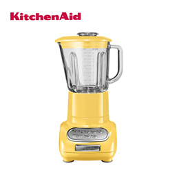 Artisan Glass Blender with 1.5L Glass Pitcher and 0.75L Culinary Jar - Majestic Yellow [5KSB5553BMY]
