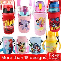 da9ba7d1573 Neoprene Kids Water Bottle Holder Bottle Carrier Sling Cover Disney Frozen  Spiderman