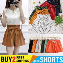 Buy 2 Free Shipping Womens Shorts Ladies Cotton Linen Short Pants Chiffon Shorts Summer Cool