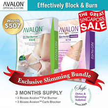 LAST DAY SPECIAL - EXCLUSIVE SLIMMING BUNDLE! SAFE WEIGHT LOSS SG NO.1 BEST SELLING SUPPLEMENTS