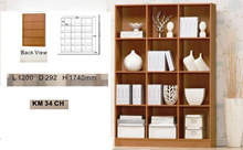 KM34-Brand new wooden Book case at offer sales  Free delivery
