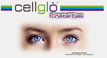 [Qoo10 COUPON FOR MORE SAVING] ONE Box Cellglo Crystal Eyes
