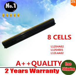 New 8cells Laptop Battery For deaPad G400s G405s G410S S410p G500s G505S Series L12S4E01 L12L4A02