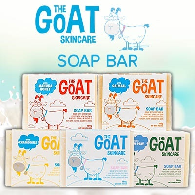 The Goat Skincare[SUPER SALES] FRESH!  GOAT SKINCARE SOAP -Relieve rom dryness itchiness/irritation/ECZEMA