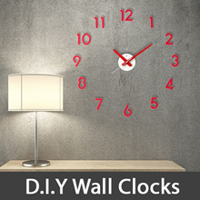 ★Local Shipping★Korea Patented DIY Wall Clock/Easy to install/Strong Hand/Zero Noise/Glow