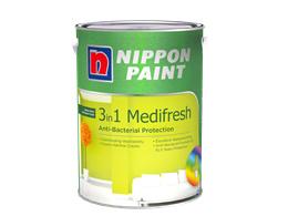Nippon Paint 3-in-1 Medifresh 5 Litres