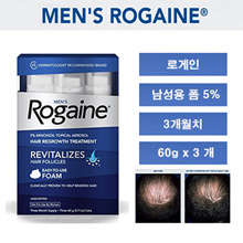 ★special price★ Rogein for men 5% Minoxidil form 3 months / Mens Rogaine 5% Minoxidil Foam