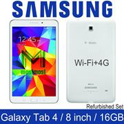 Samsung Galaxy Tab 4 / 8.0 inch / Wi-Fi + 4G / SM-T337 / 1.5GB RAM / 16GB ROM / Refurbished Set