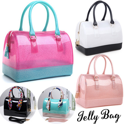 625d37b2fb High Quality Women Jelly Bags Girls Handbag Ladies Candy Bag Waterproof  Crystal Bag