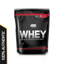 Optimum Nutrition Whey Protein - 1.8 lbs (3 Flavours Available)