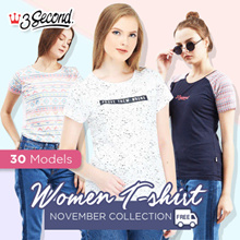 [3Second] Women Tshirt - November Collection - 30 Models - Free Shipping**