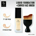 [{TIDAK PAKAI BRUSH}] Liquid Foundation VER 88 NEW ORIGINAL Tersedia 2 Pilihan l Best Liquid Foundat