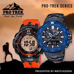 [Best Price Guarantee] Casio Pro Trek series Watches Promotions [WatchesZon]