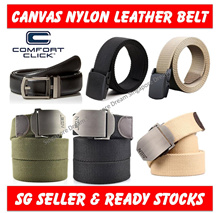 Non-Metallic Plastic N Metallic Buckle Head Canvass Belt for Men / Polyester Fiber / Hypoallergenic