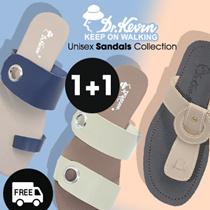 ★★ BUY 1 GET 1 FREE ★★ - Dr.Kevin Women sandals - Men sandals| Premium quality warranty