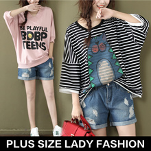 Plus / women fashion lovely dress / tops / special for fat women / Look thin /profession