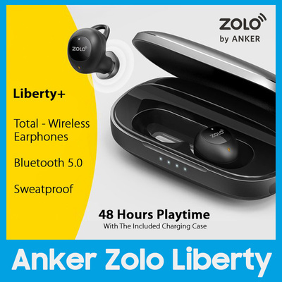 fca1032cd6b Qoo10 - Anker Zolo Liberty Total-Wireless Earphones Bluetooth Earbuds with  Gra... : Mobile Devices