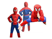 Free Shipping Party Supplies Spiderman Halloween Costume For Kids Children S/M/L Christmas Costume