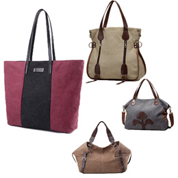 Unisex combined use large capacity bag canvas fabric travel bag   tote bag  back bag ladies a97d8c4d3712f