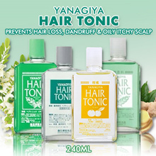 [Bundle of 2]YANAGIYA Hair Tonic Alomail Cooling Citrus Scalp / No Hair Loss Dandruff / Hair Growtth