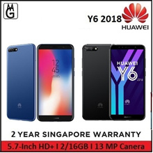 HUAWEI Y6 2018 2/16GB I 5.7-Inch HD+ Smartphone / Local Warranty