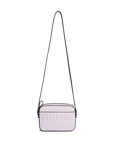83f86e4d1c41 (GUESS Factory) GUESS Factory Women s Laken Logo Crossbody  (Size:ONE|Color:Lavender)