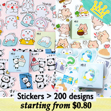 CHRISTMAS GIFTS CHRISTMAS GIFT STICKERS PACK CARTOON CHILDREN DAY GIFT STATIONERY GOODIE BAG
