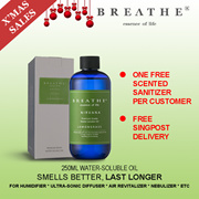 CNY PROMO ★AUSTRALIA Best Selling Water Soluble Aromatherapy Oil★ 250ml for diffusers