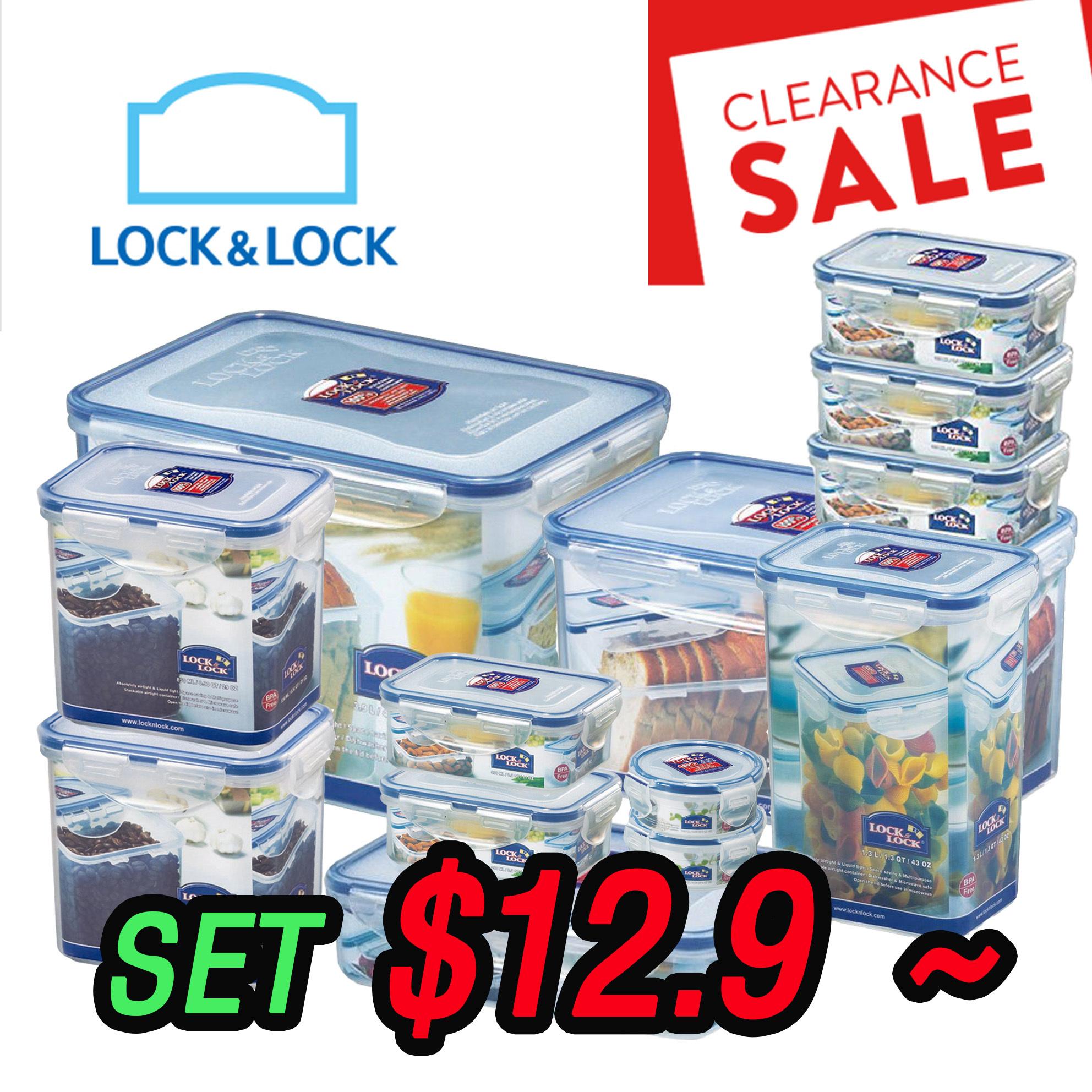 Qoo10 - LOCK N LOCK Food Storage Container Package Set and ...